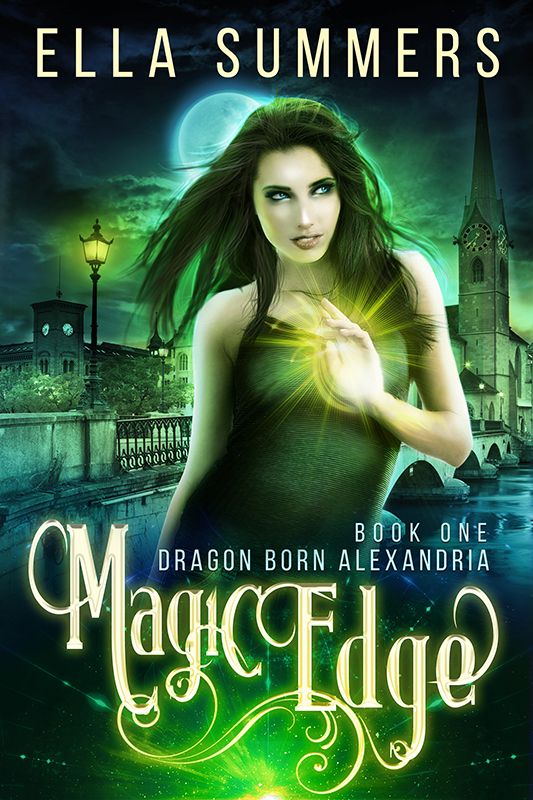 Magic Edge Book Cover For Ella Summers Ellasummers Stock Photos