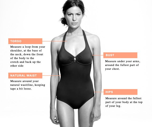 Clothing Size Charts & Measurement Guide For Women, Men
