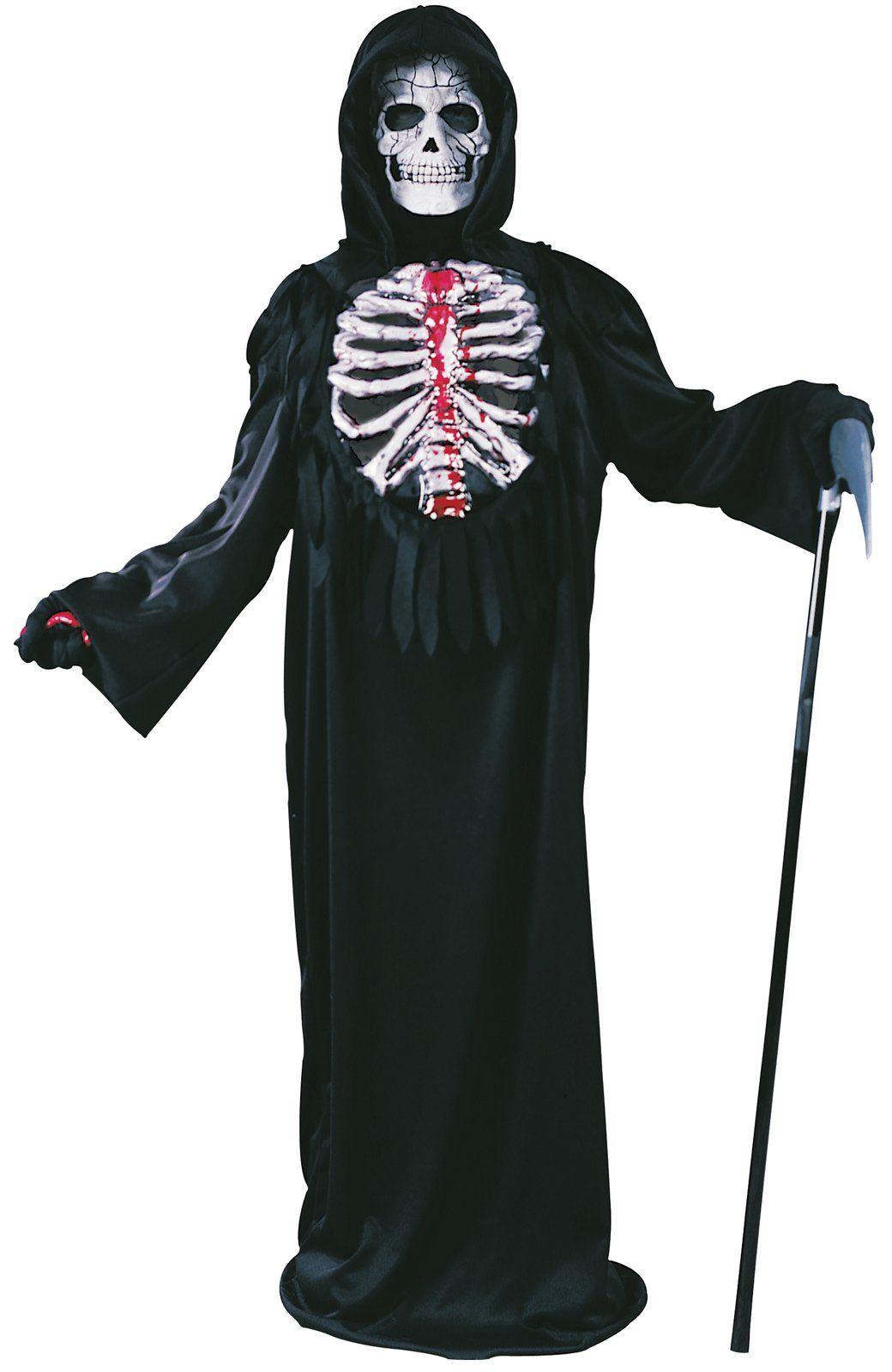 smoldering chest light up reaper child costume | halloween