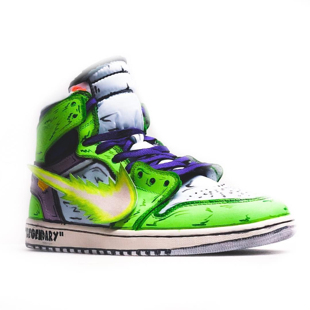 Custom Sneaker By stompinggroundcustoms   Sneakers men fashion ...