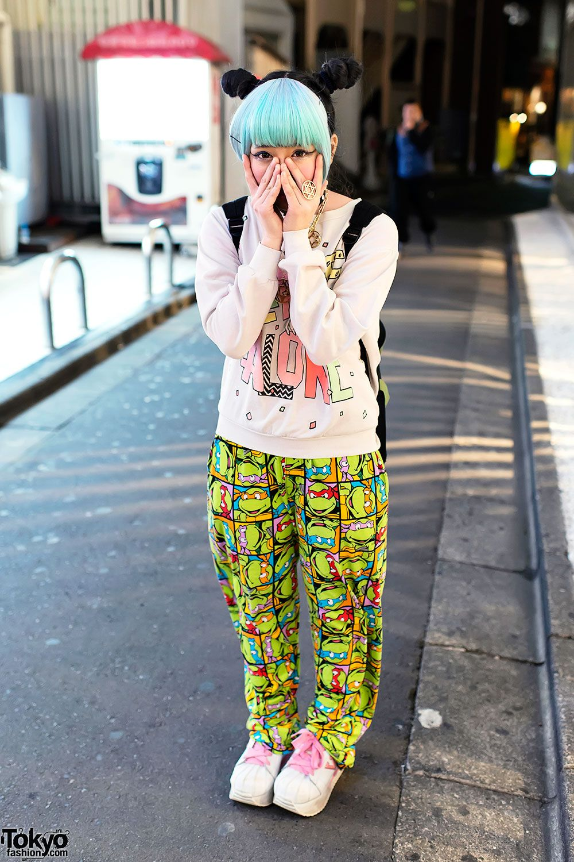 Teenage Mutant Ninja Turtles Harajuku Fashion