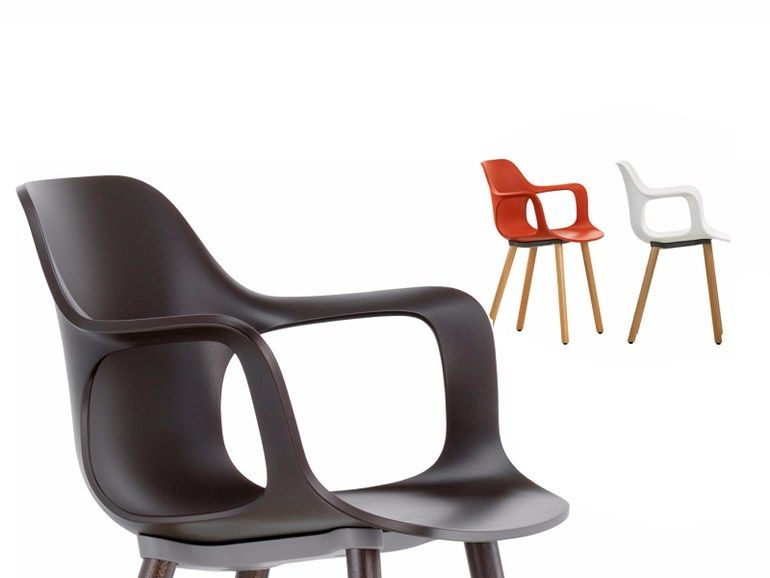 Vitra Sedie ~ Hal armchair wood armchairs woods and tables