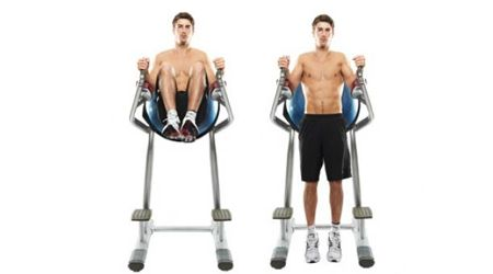 Captains Chair Leg Raises Http Www Fitnessconnoisseur Com 2012 12 28 Strength Training Ab Strengthening Exercise Abs Workout Lower Ab Workouts Lower Abs