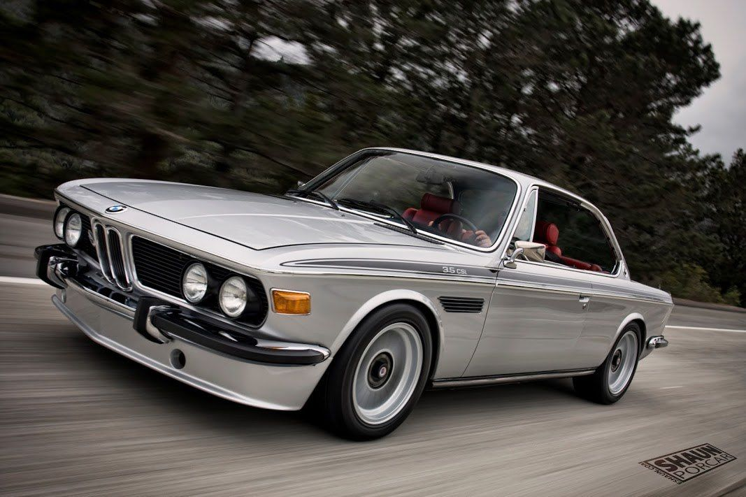 Bmw E9 3 5 Csi Tuned Bimmers Bmw E9 3 5 Csi Grey Red Black