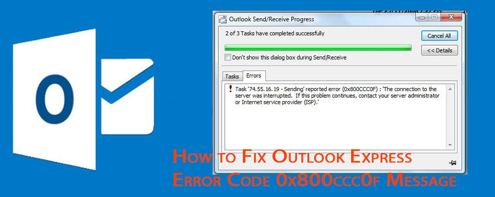 How to Solve All Outlook Error Codes in Mail?
