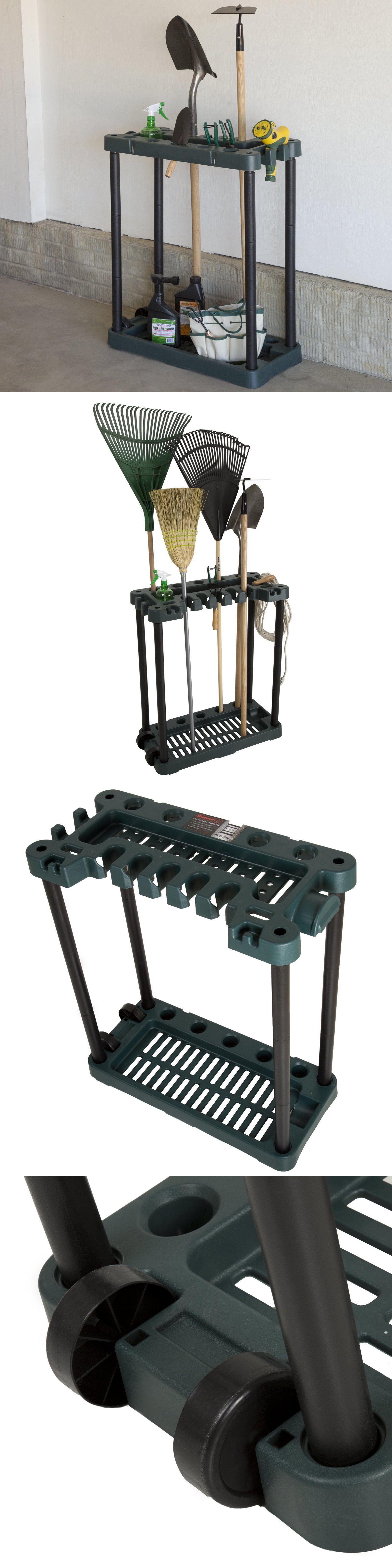 garden tool racks 181011: rack organizer storage broom rake
