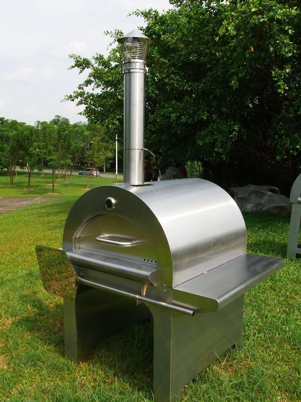 Wood Fired Pizza Oven/Roaster Stainless Steel Commercial