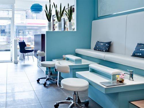 Best Salon Furniture Spa The Interior Furniture In Blue 640 x 480