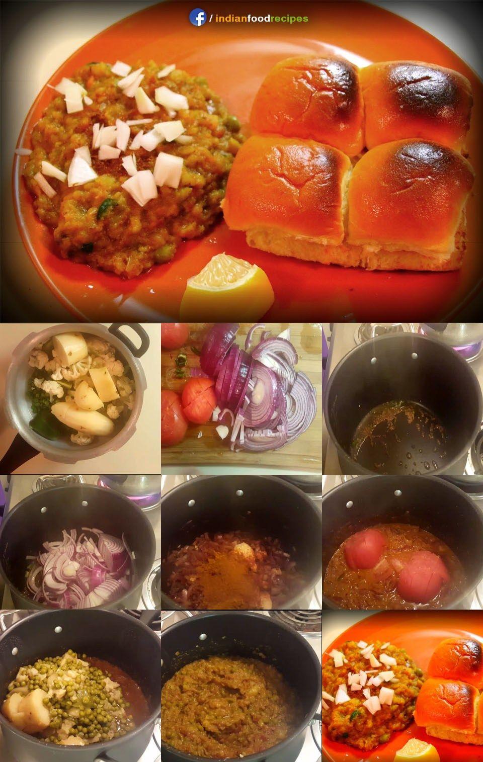 Healthy pav bhaji recipe step by step pav bhaji is an indian dish healthy pav bhaji recipe step by step pav bhaji is an indian dish made with forumfinder Images