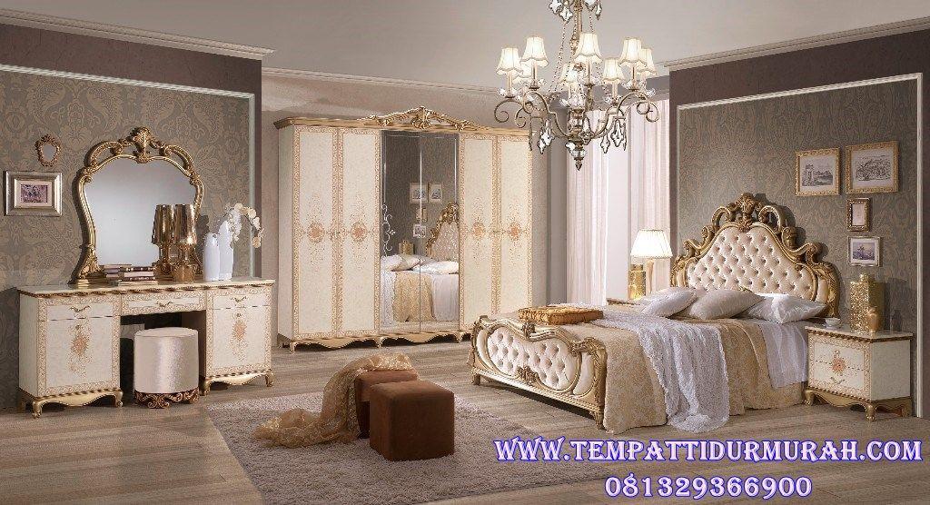 Set Tempat Tidur Dewasa Untuk Kamar Klasik (Dengan gambar