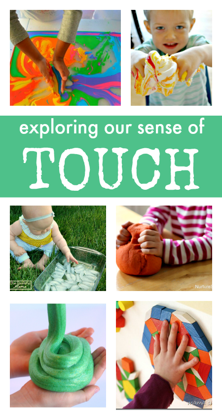 How does the sense of touch