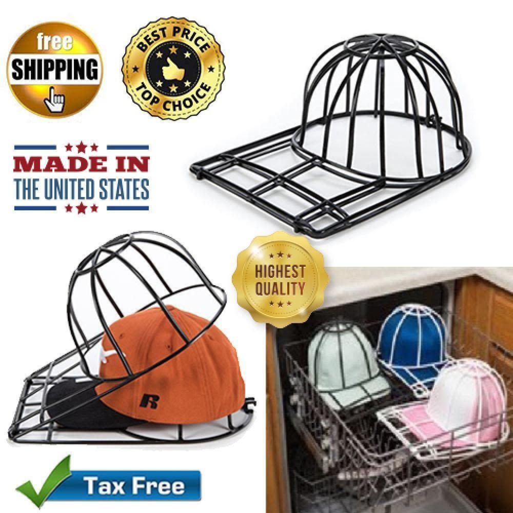 Baseball Hat Cleaner Ball Cap Buddy Washer Black Washing Cage Sports Clean  Caps  BallcapBuddy c3acf7f91cb