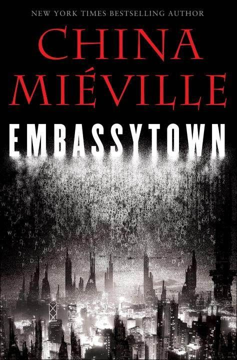 Staff Favorites April 2012. Embassytown by China Miéville. Avice Benner Cho, a human colonist on a distant planet populated by the Ariekei, sentient beings famed for their unique language, returns to Embassytown after many years of deep space exploration to find she has become a living simile in the Ariekei language even though she cannot speak it, and she is torn by competing loyalties when hostilities erupt between humans and aliens.