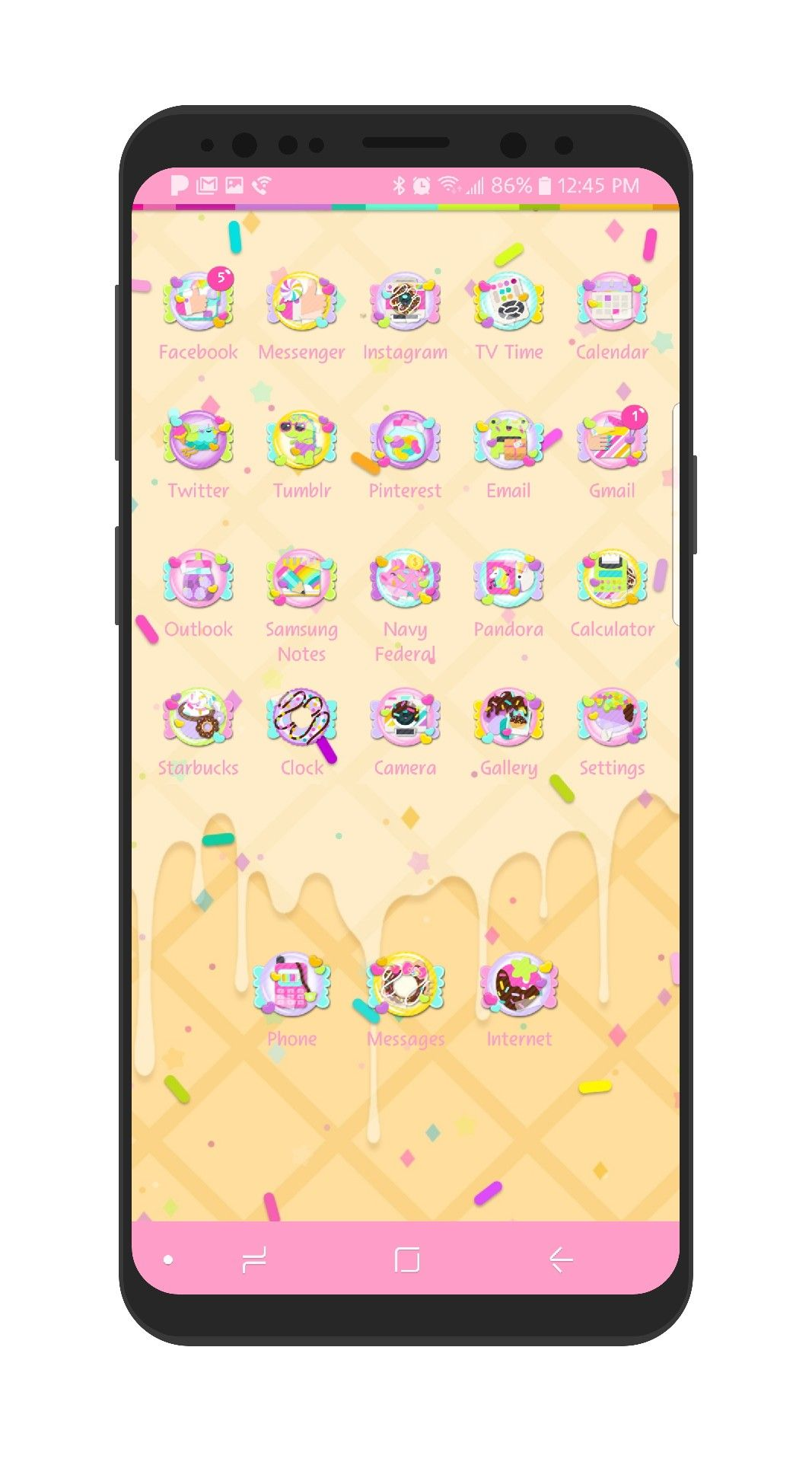 Image by Darling on Samsung Cute themes, Theme