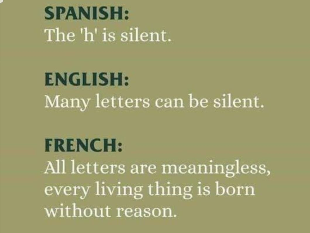 I Mean They Aren T Wrong English French Spanish Theenglishvocabularywizard Spanish English Learning
