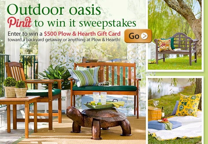 Outdoor Oasis Pin It To Win It Sweepstakes Enter To Win A 500 Plow