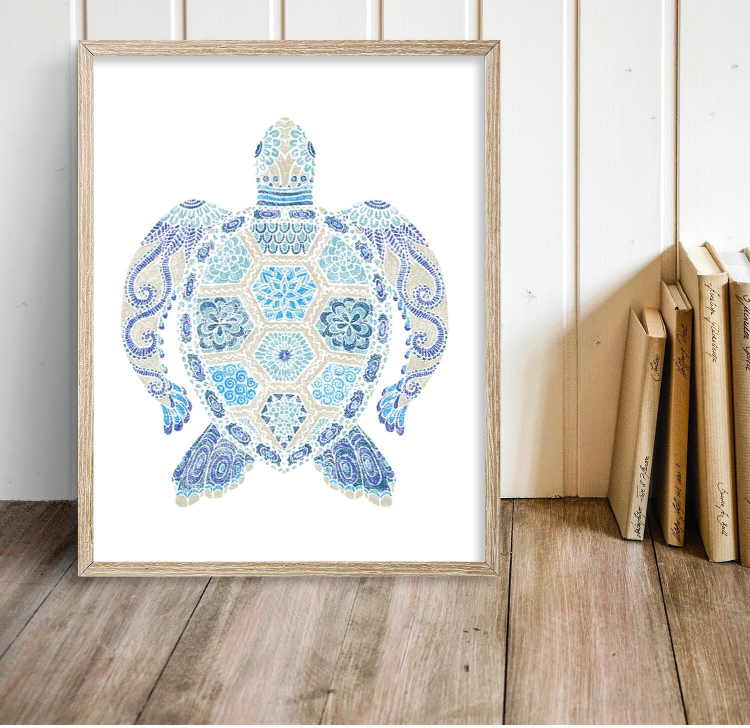 abstract turtles green blue sea wall home pinterest turtle make for decor electric metal decorations cute of new adorned images sculptures beautiful art your three painting