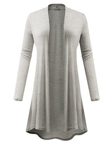 5b8b47043 New Trending Outerwear  BIADANI Women Long Sleeve Classic Open Front ...