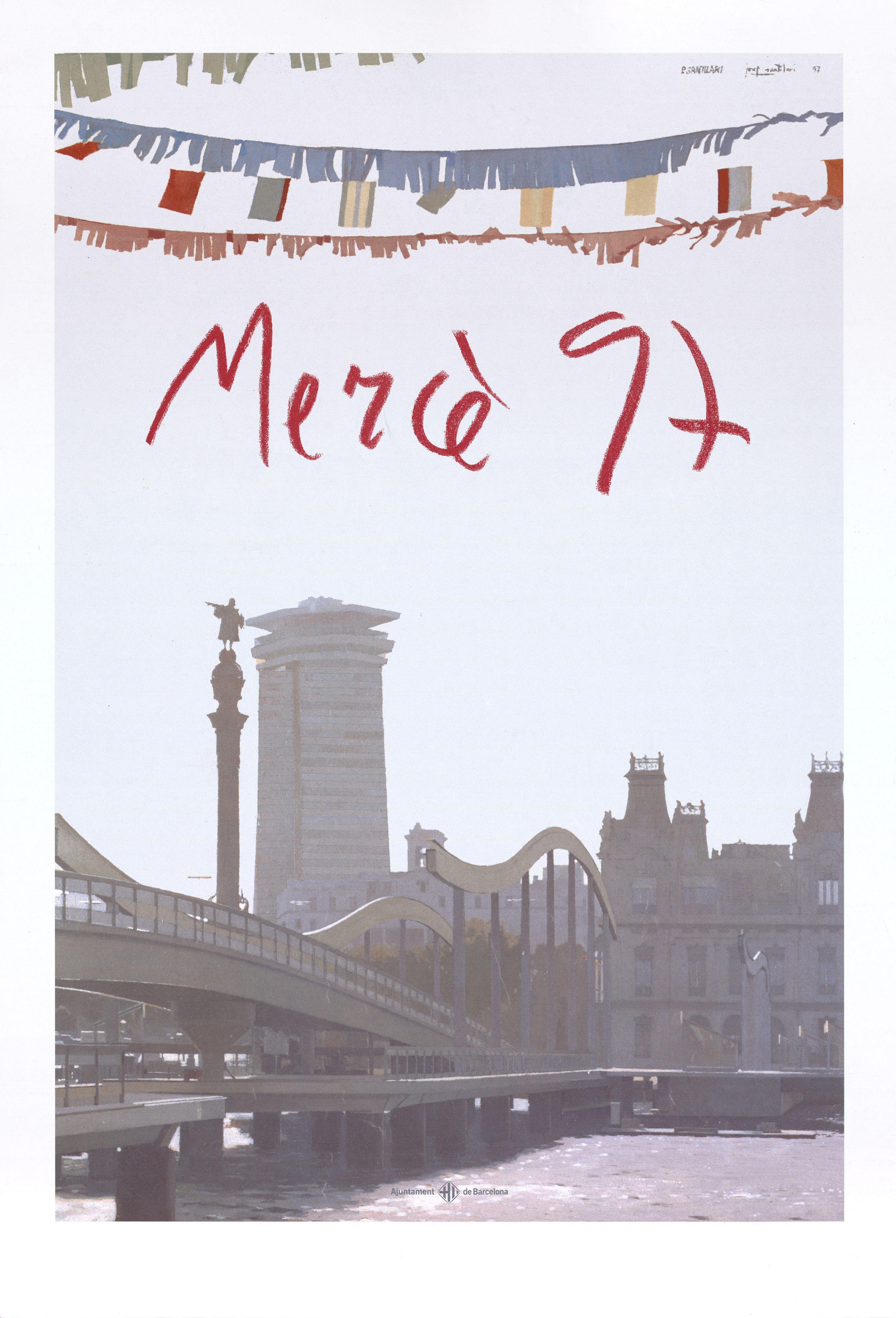 Cartel Fiestas de la Mercé 1997