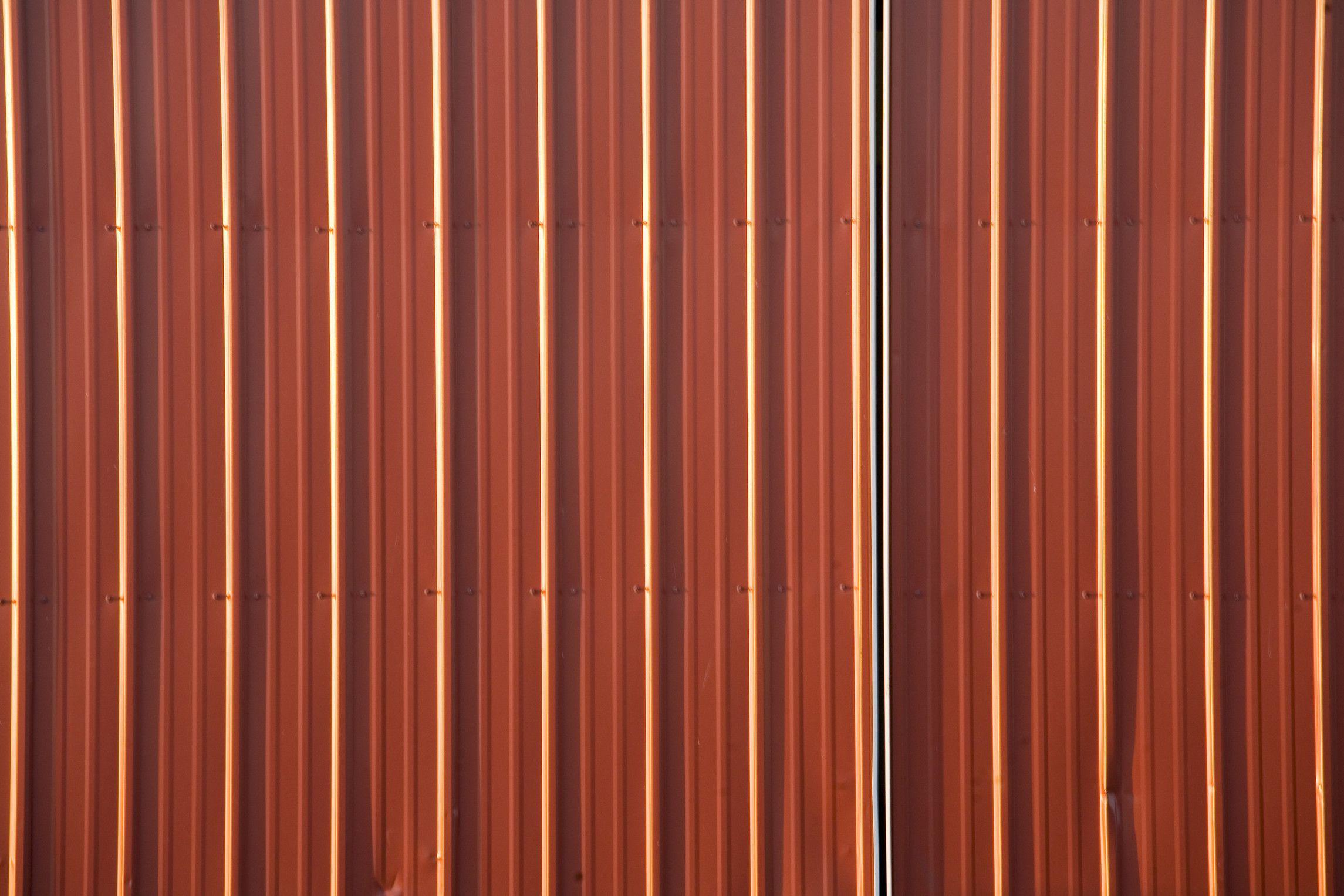 Corrugated Red Metal Sheet Corrugated Metal Metal
