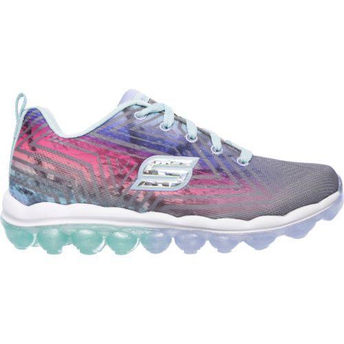 8928e7125707 Skechers Girls  Skech-Air Jumparound Training Shoes (Grey Pink