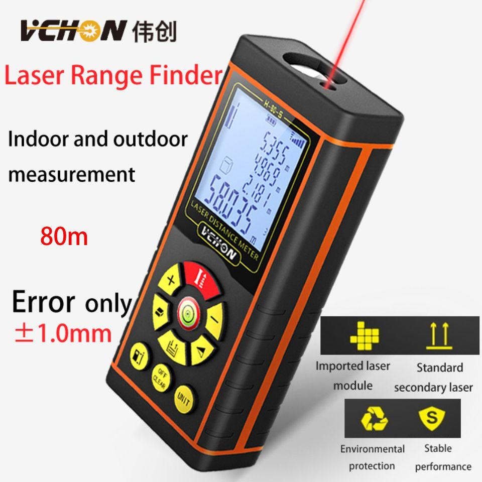 Vchon Laser Telemetre Laser Distance Sensor 80m Rangefinders For Hunting Rangefinders For Hunting Laser Measure Prices Metro Golf Range Finders Tools Tape Measure