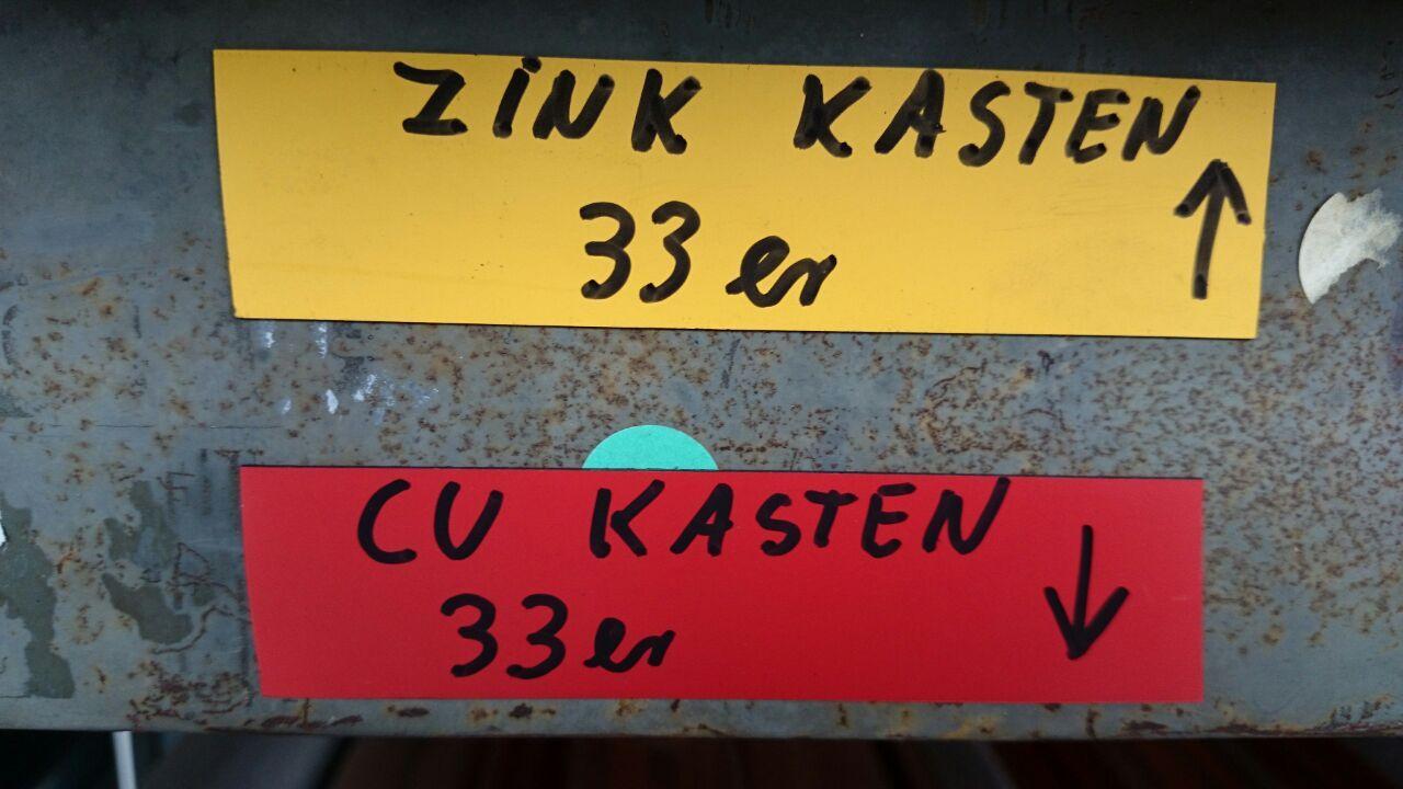 Magnetische Kennzeichnungsbänder, das Beste zur farblichen Kennzeichnung