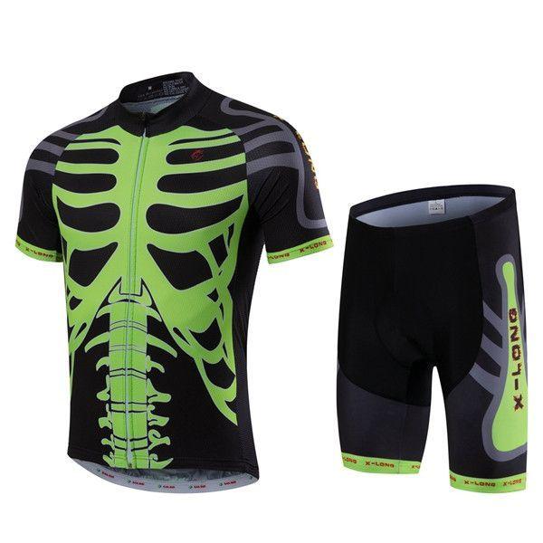 facfb900d Merida or X-LONG STOP Men Black Green Cycling Jersey Bib Shorts Set Pro Bike  Short Jersey Bicycle Clothing Top Summer Bike Shirt