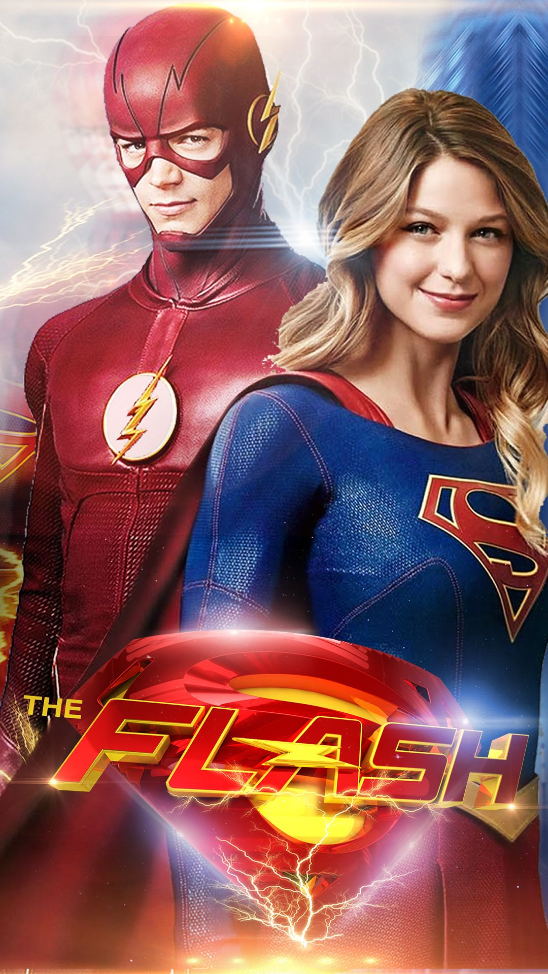 the flash and supergirl wallpaper - Google Search