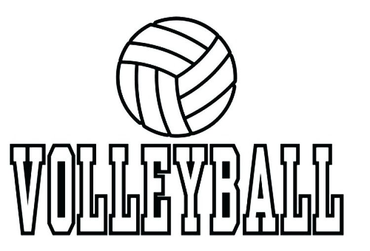 Volleyball Coloring Pages Printable Coloring pages
