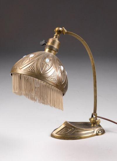 Lampe 1900 1920 Jugendstilsenteret Public Domain In 2019