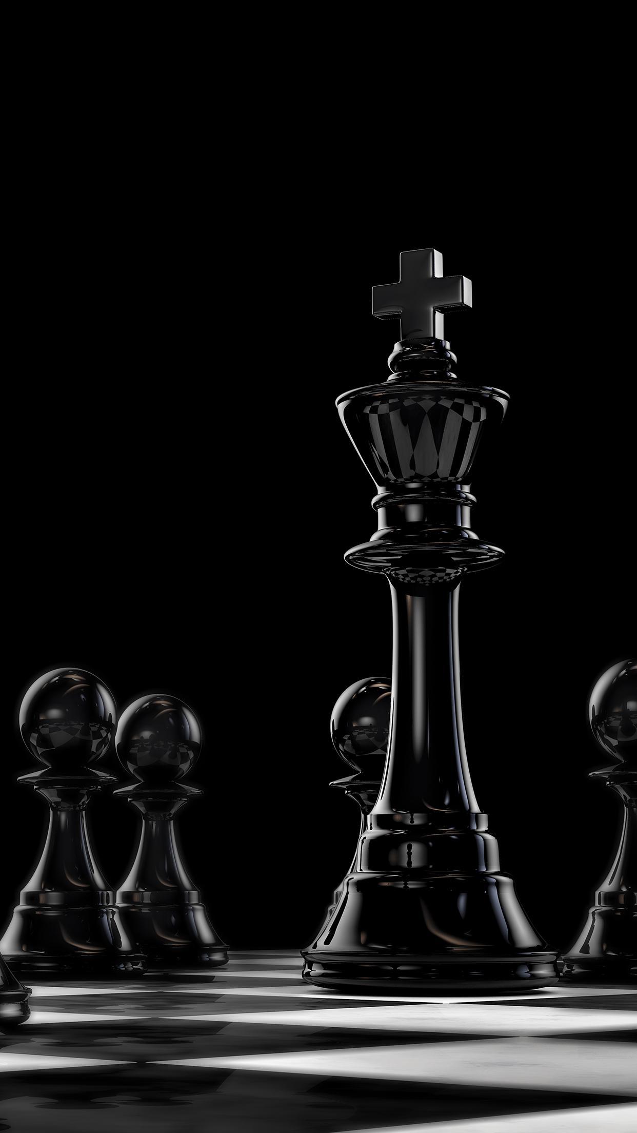 The Black Queen La Reine Noire 壁紙 スマホ壁紙 チェス
