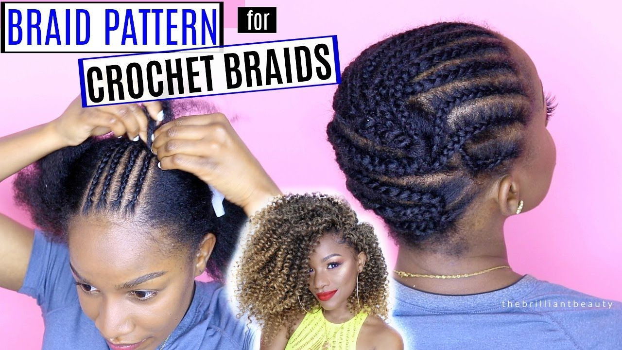 How to Braid Your Hair for Crochet Braids (DETAILED)