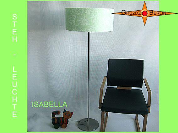 Stehleuchte ISABELLA H 155 Cm Sticht Mit Ihrer Schönheit Ein Klein Wenig  Heraus. Die Zarte