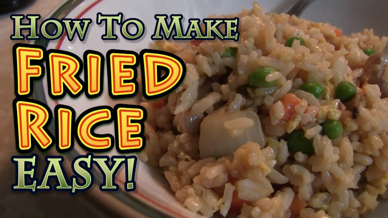 How to make fried rice big family homestead recipe videos christa and brad show how not to stink at making fried rice at home its easy cheap and delicious please click this link to subscr ccuart Choice Image