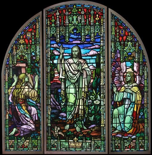 Antique Church Stained Glass | Figural & Scenic Stained Glass Windows » Antique Church Stained Glass ...