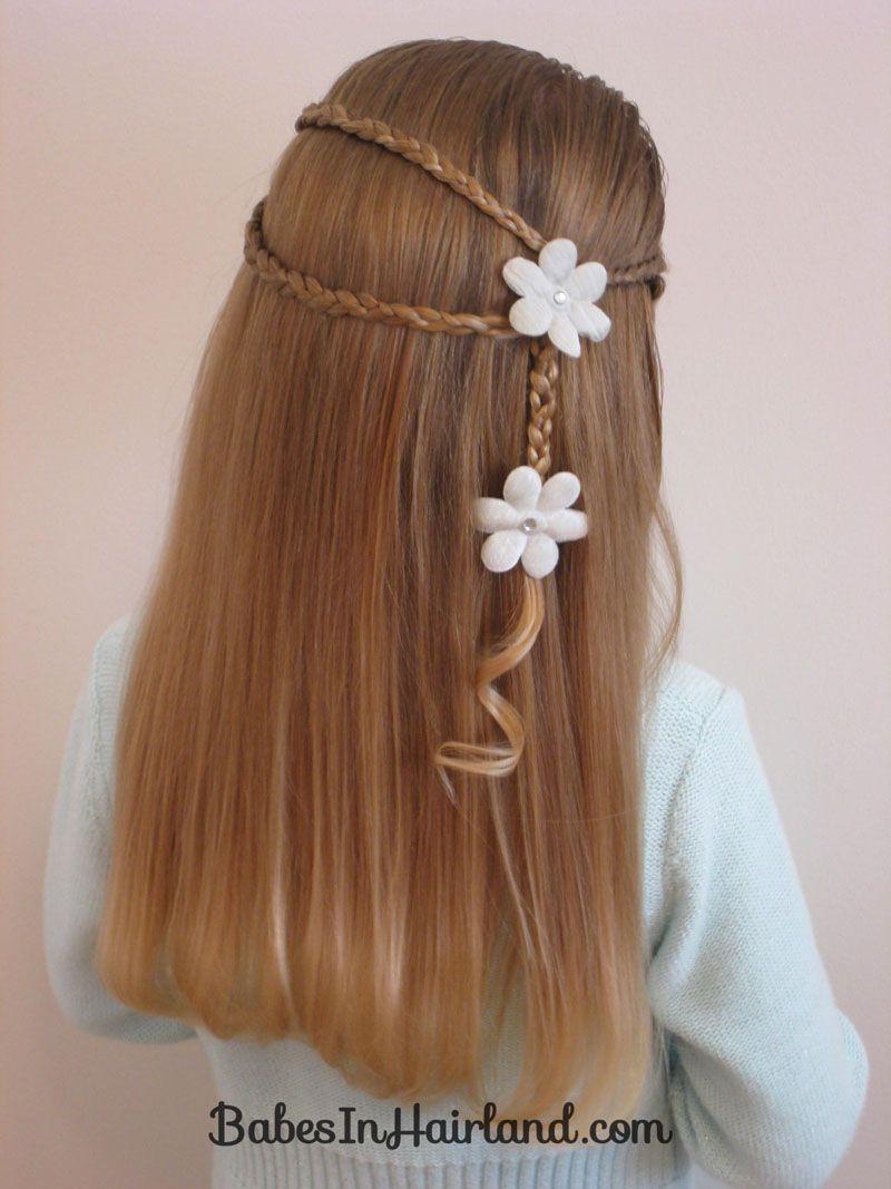 Wrap Around w/Little Braids Hairstyle | Braid hairstyles ...