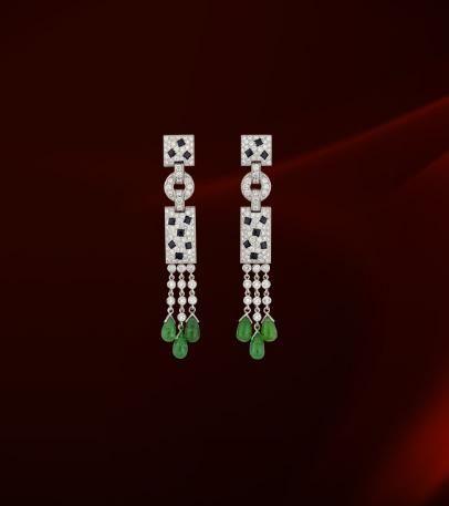 Cartier Panthere De Earrings
