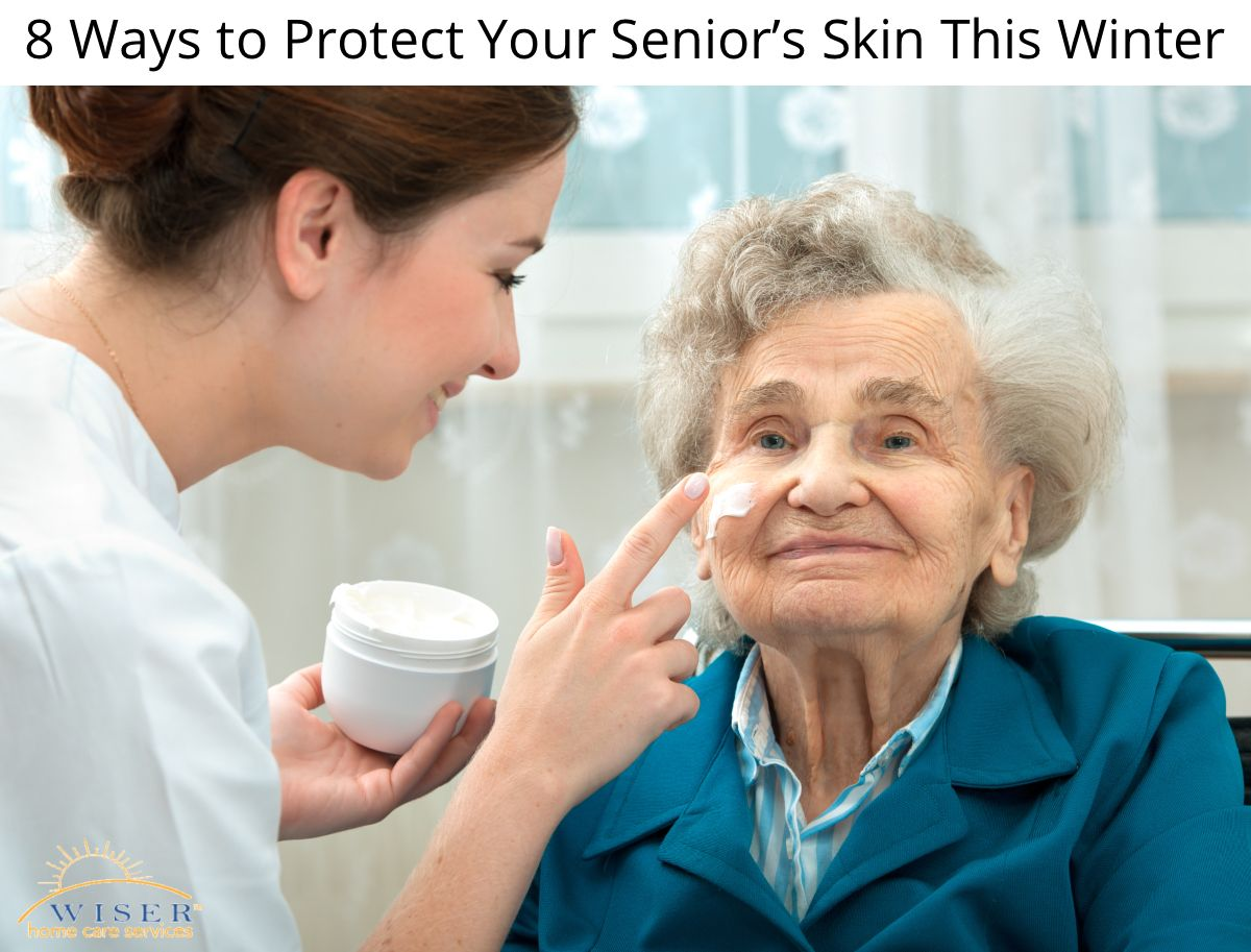 8 Ways to Protect Your Senior's Skin This Winter Elderly