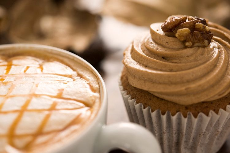 Coffee and walnut cupcakes baking recipes cupcake