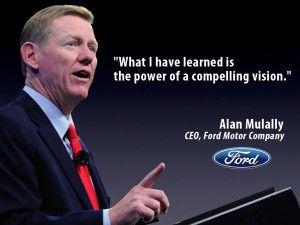 Alan Mulally Optimism And The Power Of Vision Power Of Vision