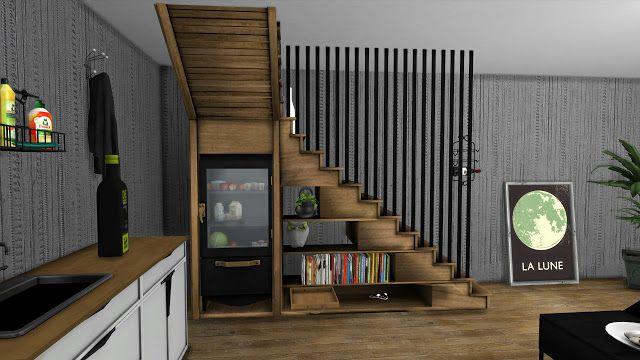 Staircase By Leo Sims Mit Bildern Sims 4 Cc Mobel