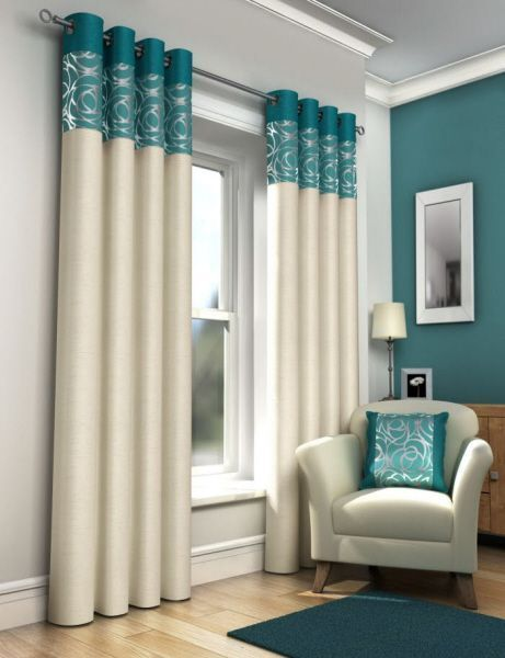 Cortinas Para Sala (25. Room DecorationsTeal Eyelet CurtainsTeal ... Part 55