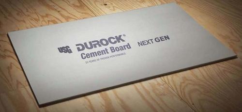 Durock Next Gen 5 8 X 4 X 8 Cement Board At Menards Cement Menards Boards