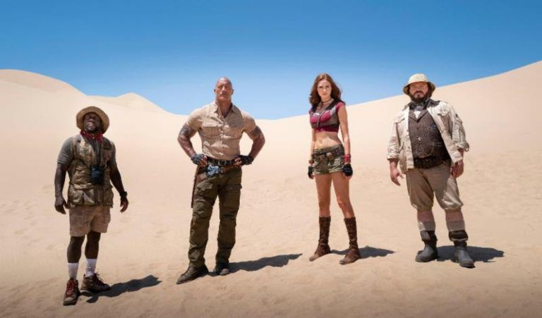 Jumanji The Next Level Powers Up With Exciting First Trailer Alien Bee Entertainment News Official Trailer Dwayne Johnson Madison Iseman