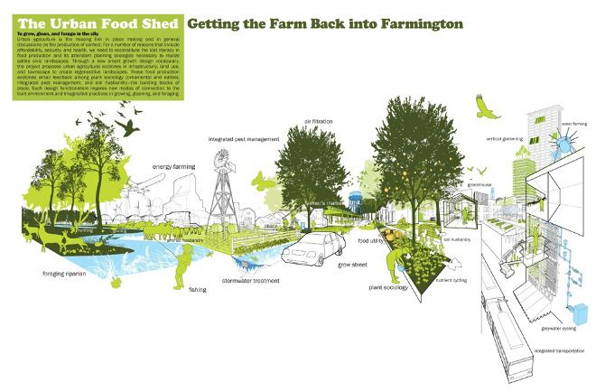 Farmington urban agriculture peter bedn r architecture urban planning and design portfolio Urban design vs urban planning