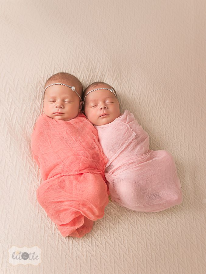Saint louis newborn photographer missouri twin baby girls http inthelittle