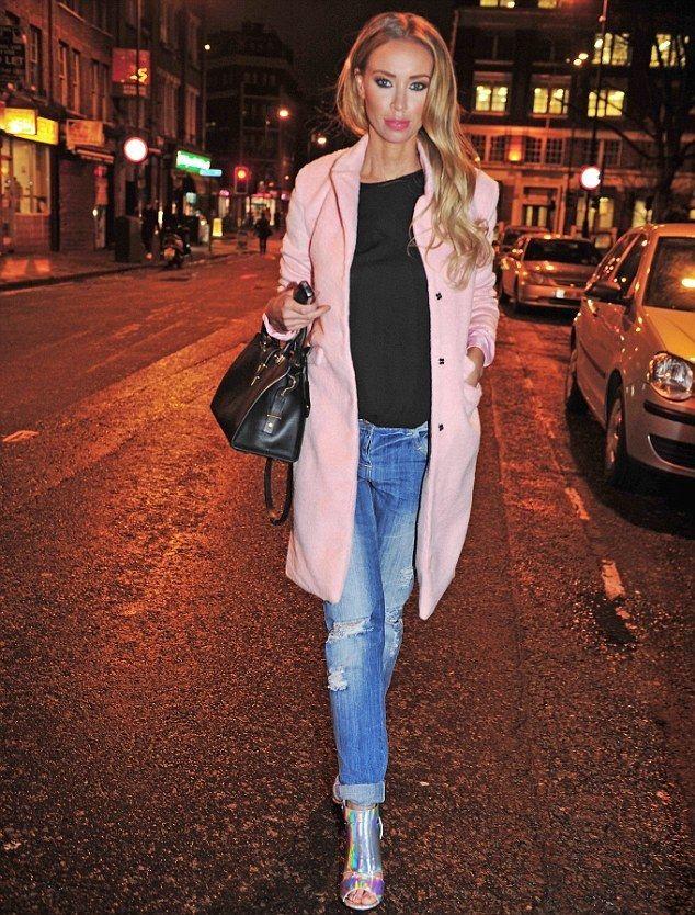 Hether Textured Tailored Boyfriend Coat In Baby Pink - www.vollow.me