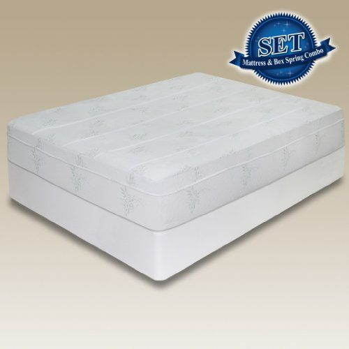 Sleep Master 10 Inch Pressure Relief Memory Foam Mattress Set With Bi Fold Boxspring King 12 Inch Memory Foam Mattress Memory Foam Mattress Mattress