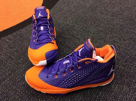 Free Shipping Only 69  Jordan CP3.VII Kendall Marshall PEs Bright Citrus  Court Purple 57958bce2